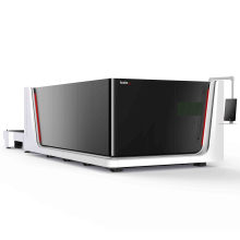 6000w S2040 size high cutting thickness fiber laser cutting machine with high quality