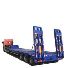 Heavy Construction Equipment Gooseneck Lowbed
