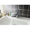 White ABS Water Saving Auto Spout Faucet Adapter (JNRU-2001C)