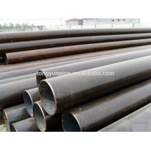 Taille de tuyau d'acier doux Q235 / ss400