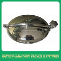 Sanitary cleaning equipment circular type manhole cover
