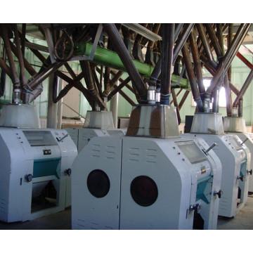 Maquinaria del molino de la harina del trigo 100tpd / maquinaria del molino de la harina del maíz
