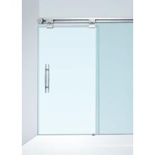 Легкая двухместная двухстворчатая полуавтоматическая дверь