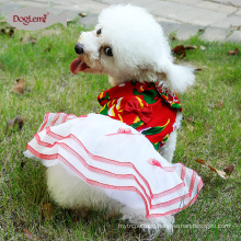 2017Doglemi Cheap Promotion Pet Dog Follow Wedding Dress Clothes Skirt