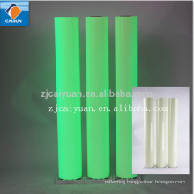 CY photoluminescent plastic film/glow in dark vinyl film/luminous film