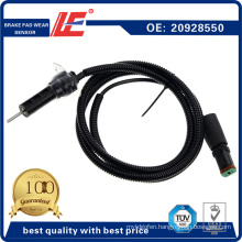 Auto Truck Brake Pad Wear Sensor Thickness Transducer Indicator 20928550 for Volvo Renault Truck