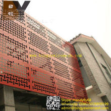 Powder Coated Aluminum Perforated Wire Mesh