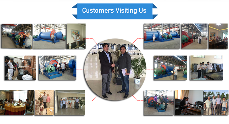 Foreign visitors come to inspect the factory