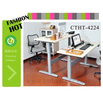 Отличным решением проблемы компьютерного стола стояли высокие столики 2 человек офисный стол
