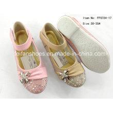 Chaussures pour enfants Chaussures princesse Chaussures simples Chaussures de danse (FF0724-17)
