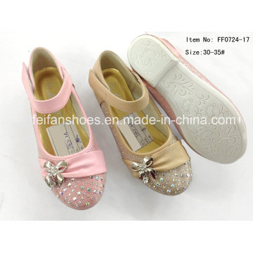 Children Shoes Princess Shoes Single Shoes Dance Shoes (FF0724-17)