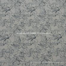 Cortina de ventana de hilo teñido de melange
