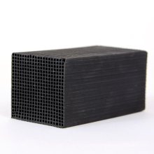 50*50*100mm Coal Based Honeycomb Cube Activated Carbon For Air Purification