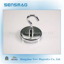Сборка мощных постоянных керамических магнитов, магнитные крюки