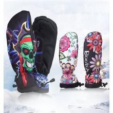 Зимние Тренировки Спорт Для Взрослых Кожаные Перчатки Для Катания На Сноуборде