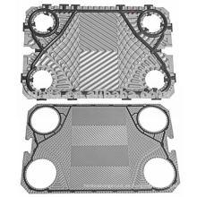 Vicarb placa de acero inoxidable para intercambiador de calor, intercambiador de calor de componentes