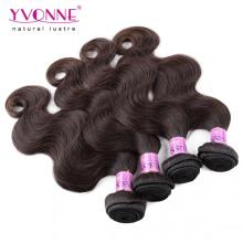 Precio al por mayor color # 2 cabello humano peruano