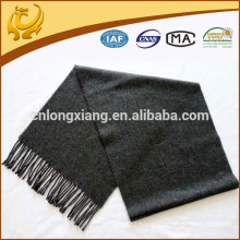 new design low MOQ wedding plain wool shawls grey
