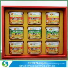 bulk crop tops sweet canned walnut kernel/canned food factory