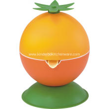 Orange hand citrus juicer