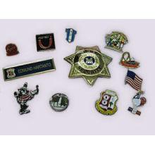 Pin en métal, épinglette à revers, badge, broche émaillée