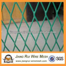 Высококачественная нержавеющая стальная проволока / ПВХ с покрытием стальной проволокой, расширенная металлическая сетка
