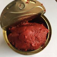 Pâte de tomate en conserve pure à 100%