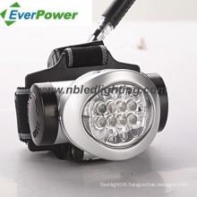 8LED Headlamp for Outdoor, 3xaaa (HL-1001)