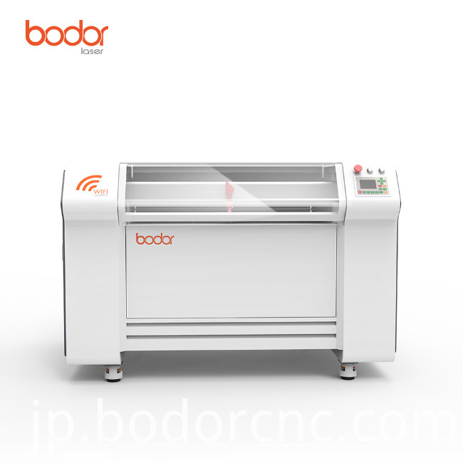 Co2 acrylic wood laser cutting and engraving machine