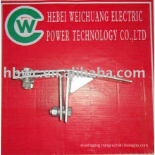 Electric power fittings-tension clamp fot tower