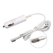45 Вт Автомобильное зарядное устройство для Magsafe1 компании Apple A1222 A1226 для MacBook зарядное устройство DC