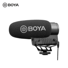 Boya BY-BM3051S Upgraded Stereo/mono Swithchable Condenser Shotgun Microphone For Dslrs Camcorders