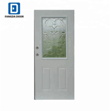 Fangda 8 panel steel entry door