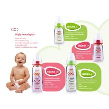 60ml-240ml Neutral Boroslicate Glass Baby Feeding Bottle