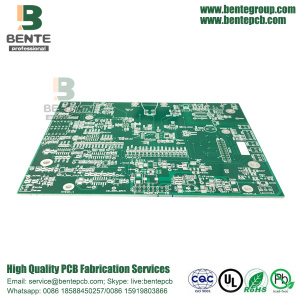 FR4 Tg135 Quickturn PCB 2 Lagen PCB Immersion Sliver