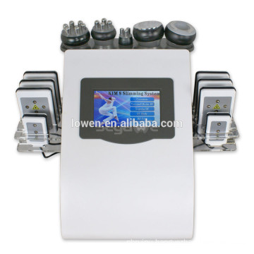 2015 hot selling vacuum RF facelift vacuum cavitation/tripolar rf/bipolar rf machine