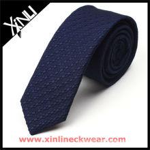 Nouvelle cravate fine en soie pour homme