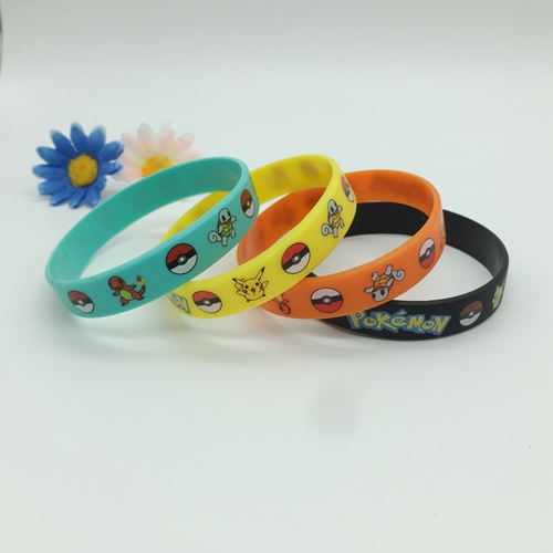 Silk screened wristbands