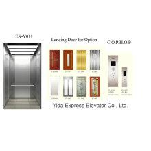 Anti-Fingerprint aço inoxidável Home elevador com bom preço