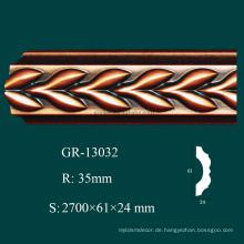 Gießbare Produkte PU Krone Form Ecken mit hoher Dichte und feuerfest