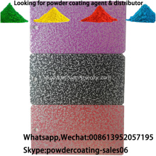 Elektrostatik Spray Hammer Tone Tekstur Powder Coating