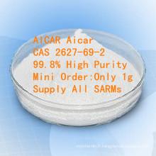 Matière première pharmaceutique Aicar Acadesine CAS 2627-69-2 de grande pureté d'Aicar