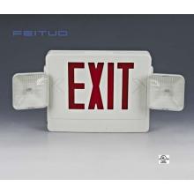Sinal de LED de sinal, combinação de iluminação de emergência, luz de emergência, Combo, saída