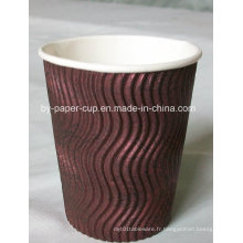 6,5 oz-16 oz Ripple Paper Cup