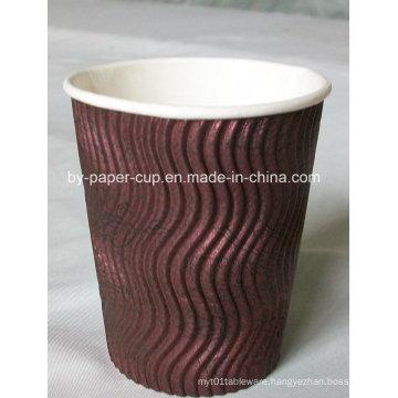 6.5oz-16oz Ripple Paper Cup
