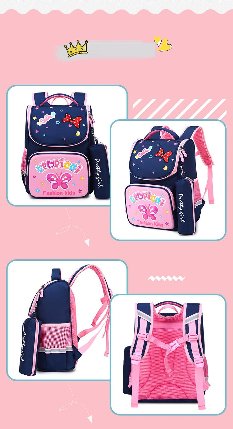 Primary school bag children's 3d backpack cartoon backpack (1)