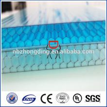 Baubau Dachdecker PC Wabenplatte / Polycarbonat Wabenplatte