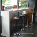 Artificial Leather High Bar Table and Chair Restaurant Stools (SP-CS136)