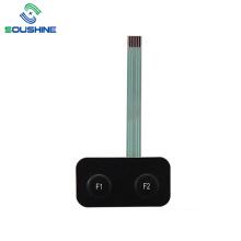 2 button F1 F2 membrane switch 3M adhesive