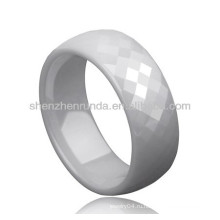 Белый цвет керамической моды кольца ювелирные изделия пара любовник кольца пользовательские дизайн для мужчин женщин кольца ювелирные изделия производитель